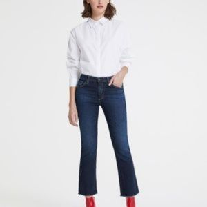 AG Jodi high rise cropped jeans
